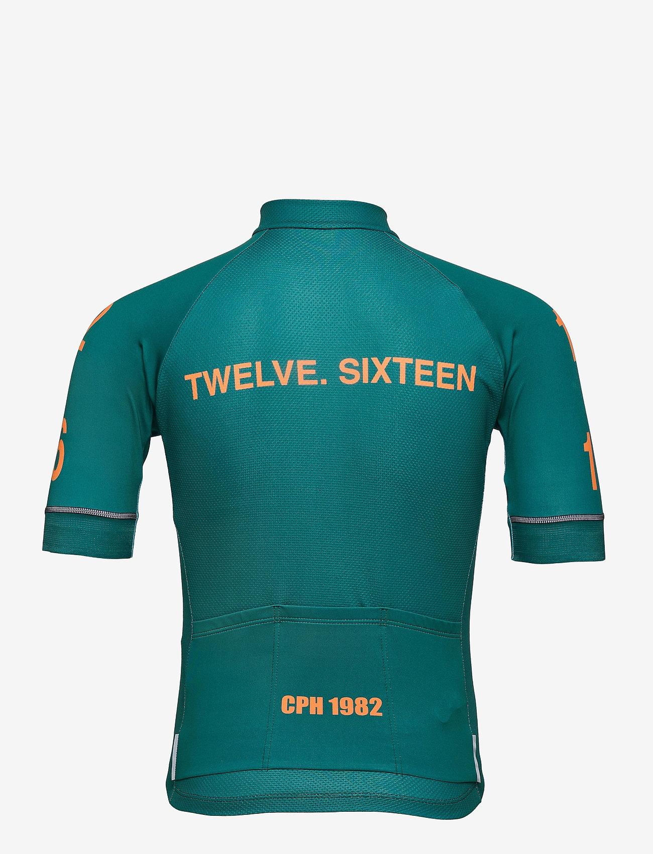 Twelve Sixteen - Jersey S/S Elite 09 Spinn Men - t-shirts - green - 1