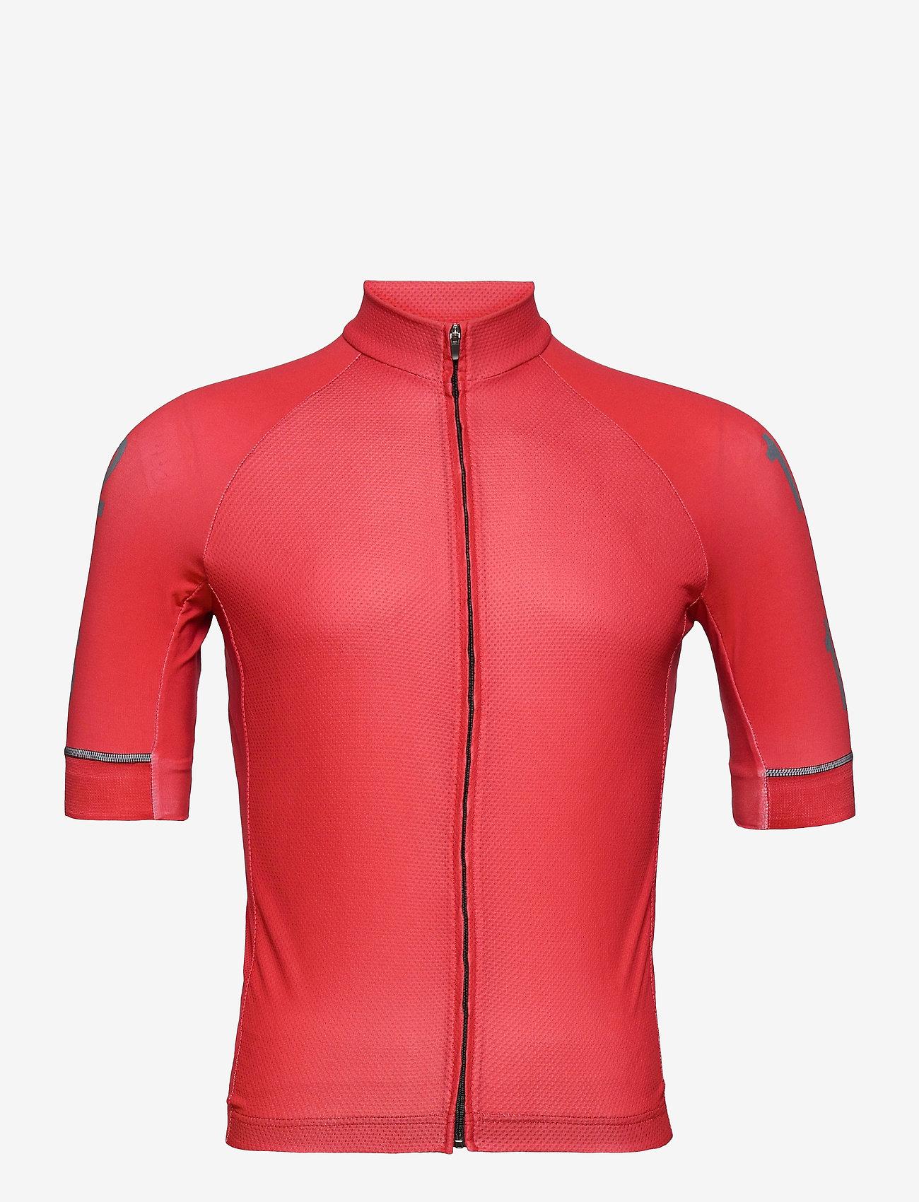 Twelve Sixteen - Jersey S/S Elite 09 Spinn Men - t-shirts - red - 0