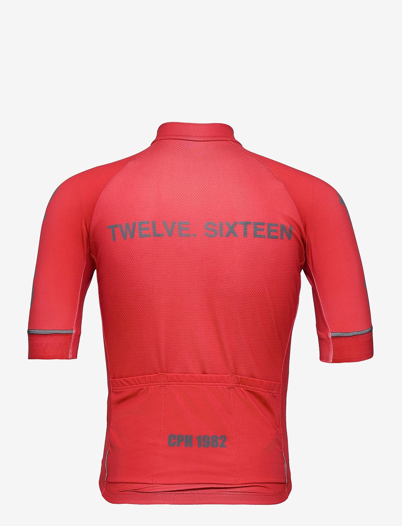 Twelve Sixteen - Jersey S/S Elite 09 Spinn Men - t-shirts - red - 1