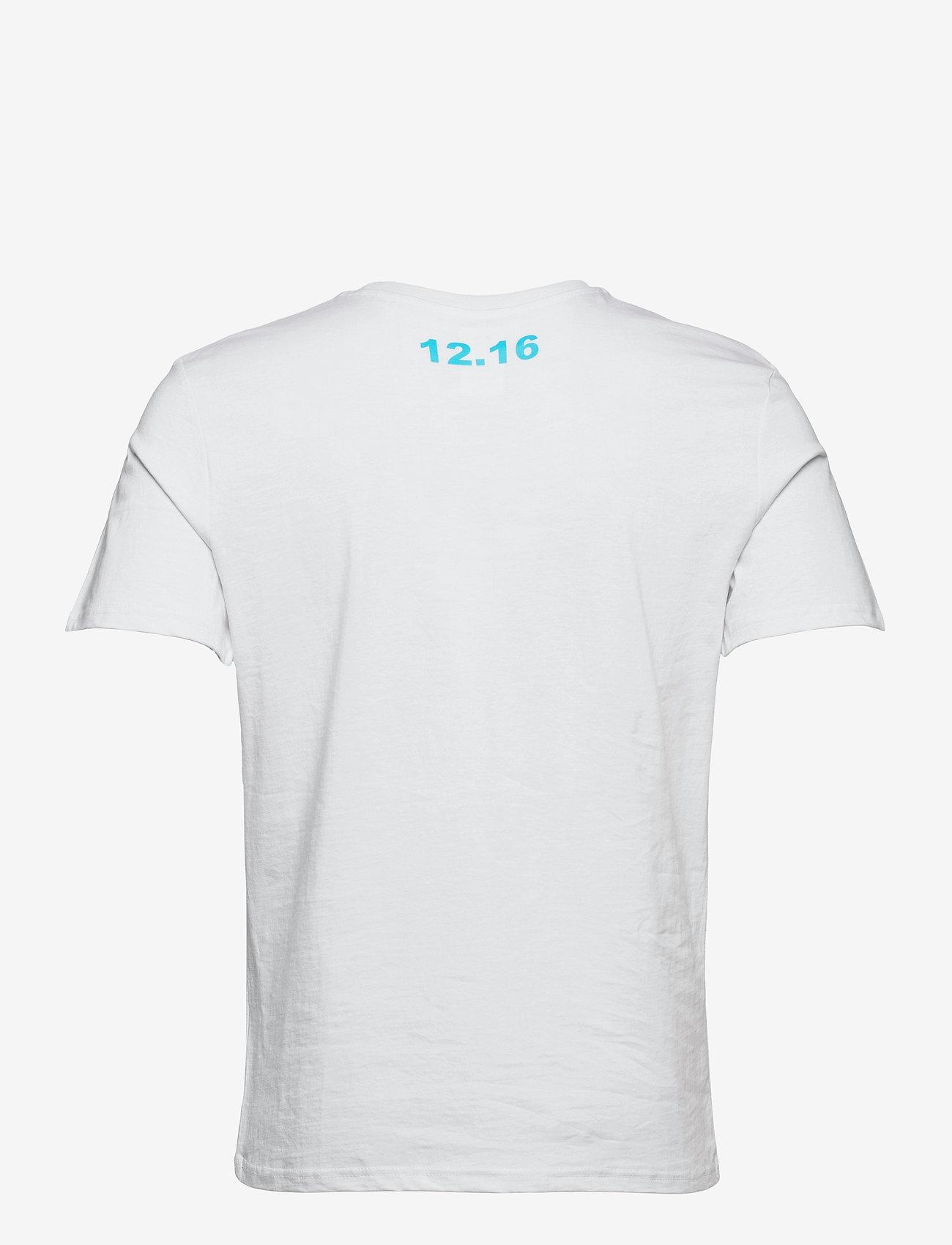 Twelve Sixteen - Tee S/S - t-shirts - blue - 1