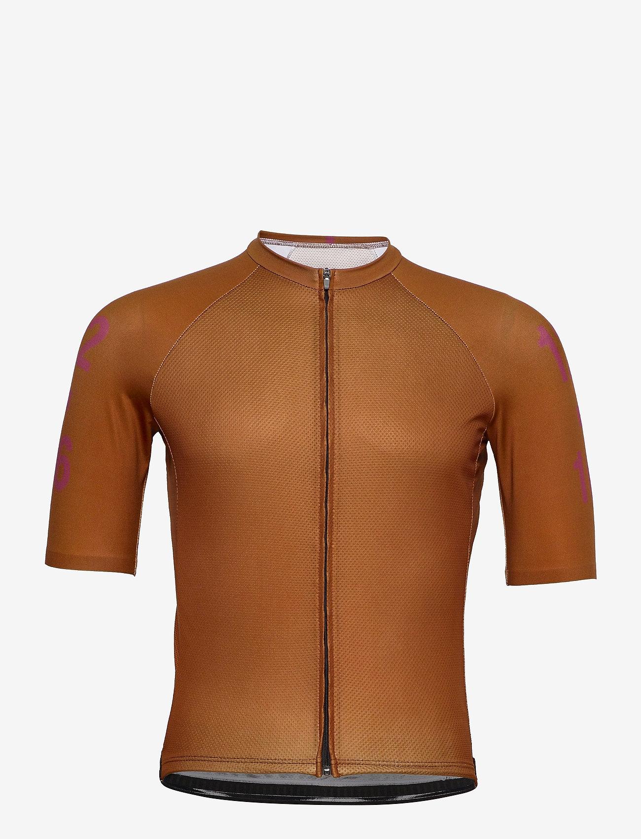 Twelve Sixteen - Jersey S/S Elite Men - t-shirts - brown - 0