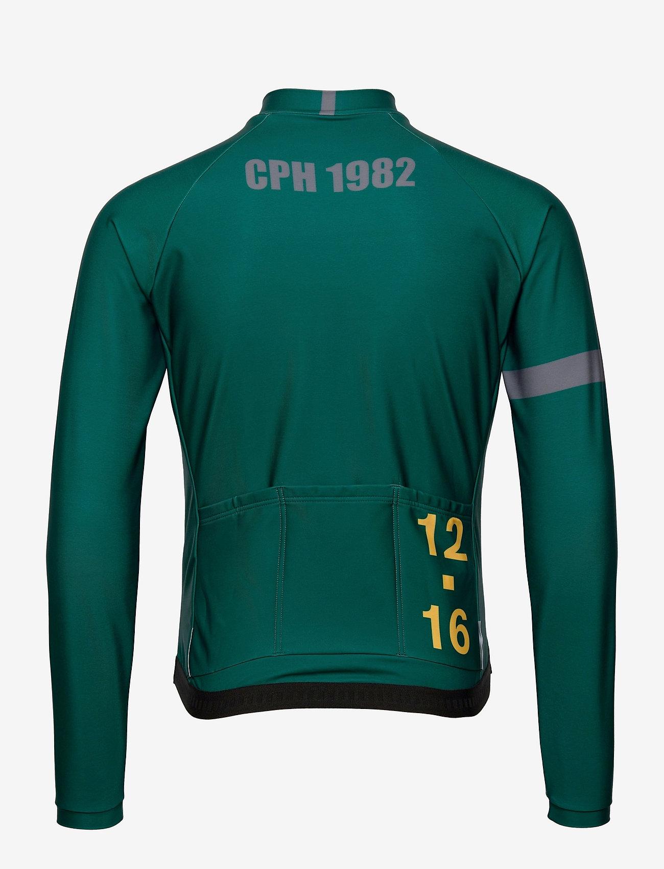 Twelve Sixteen - 0168 Jersey L/S Elite ANDORRA Green/Grey - overdele - green/grey - 1