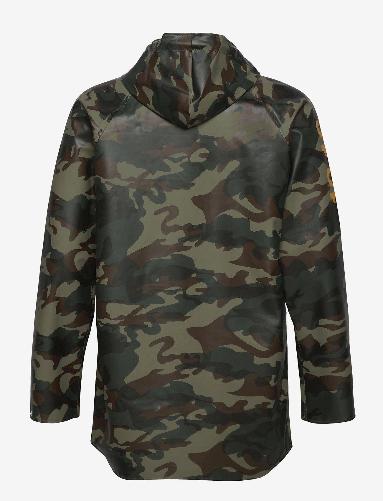 Twelve Sixteen - Normandie 8000 rain jacket - manteaux de pluie - camo green - 1
