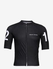 Twelve Sixteen - Jersey S/S  Elite Men - t-shirts - black - 0