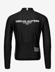 Twelve Sixteen - 0174 Jersey L/S Elite ANDORRA Black/White - overdele - black/white - 1