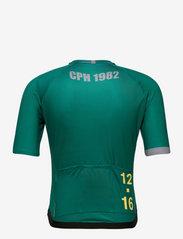 Twelve Sixteen - 0168 Jersey S/S Elite Green/Grey - t-shirts - green/grey - 1