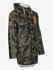Twelve Sixteen - Normandie 8000 rain jacket - manteaux de pluie - camo green - 2