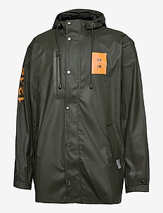 Rain Jacket men - regenjassen - greeen