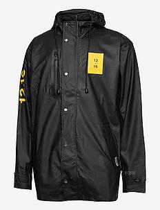Rain Jacket men - rain coats - black
