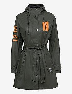 Rain Jacket women - regnjakker - greeen