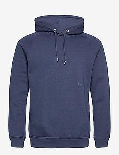Hoodie - hættetrøjer - blue