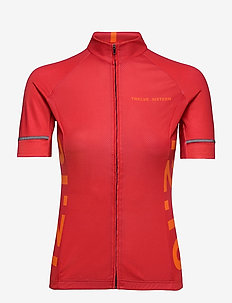 Jersey S/S Elite 09 Spin Women - t-skjorter - red