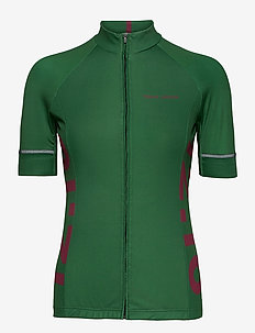 Jersey S/S Elite Spinn Women - t-skjorter - green