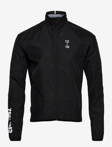 0174 Jacket Elite Black/White - sportjackor - black/white