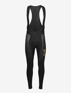 0111 Bib Tights Elite Roubaix - cykelshorts & tights - black/gold