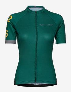 0168 Jersey S/S Elite Green/Grey W - t-paidat - green/grey