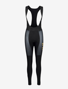 0111 Bib tights ELITE ROUBAIX W - cycling shorts & tights - black/gold
