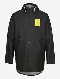 Normandie 8000 rain jacket - regenjassen - black
