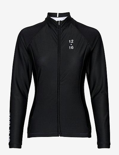 0174 Jersey L/S Elite ANDORRA Black/White W - hauts à manches longues - black/white