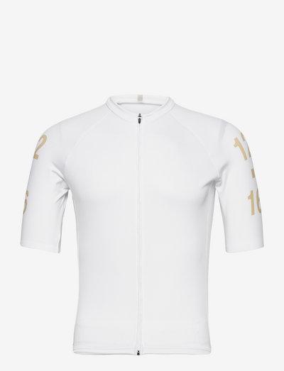0145 Jersey S/S Elite White/Gold - t-shirts - white/gold