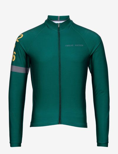 0168 Jersey L/S Elite ANDORRA Green/Grey - sweaters - green/grey