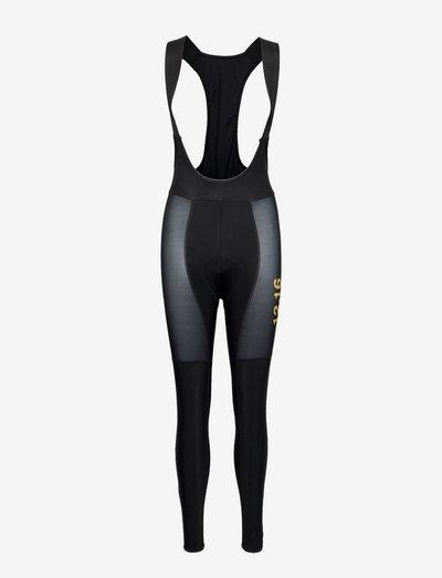 0111 Bib tights ELITE ROUBAIX W - cuissards et collants cyclistes - black/gold