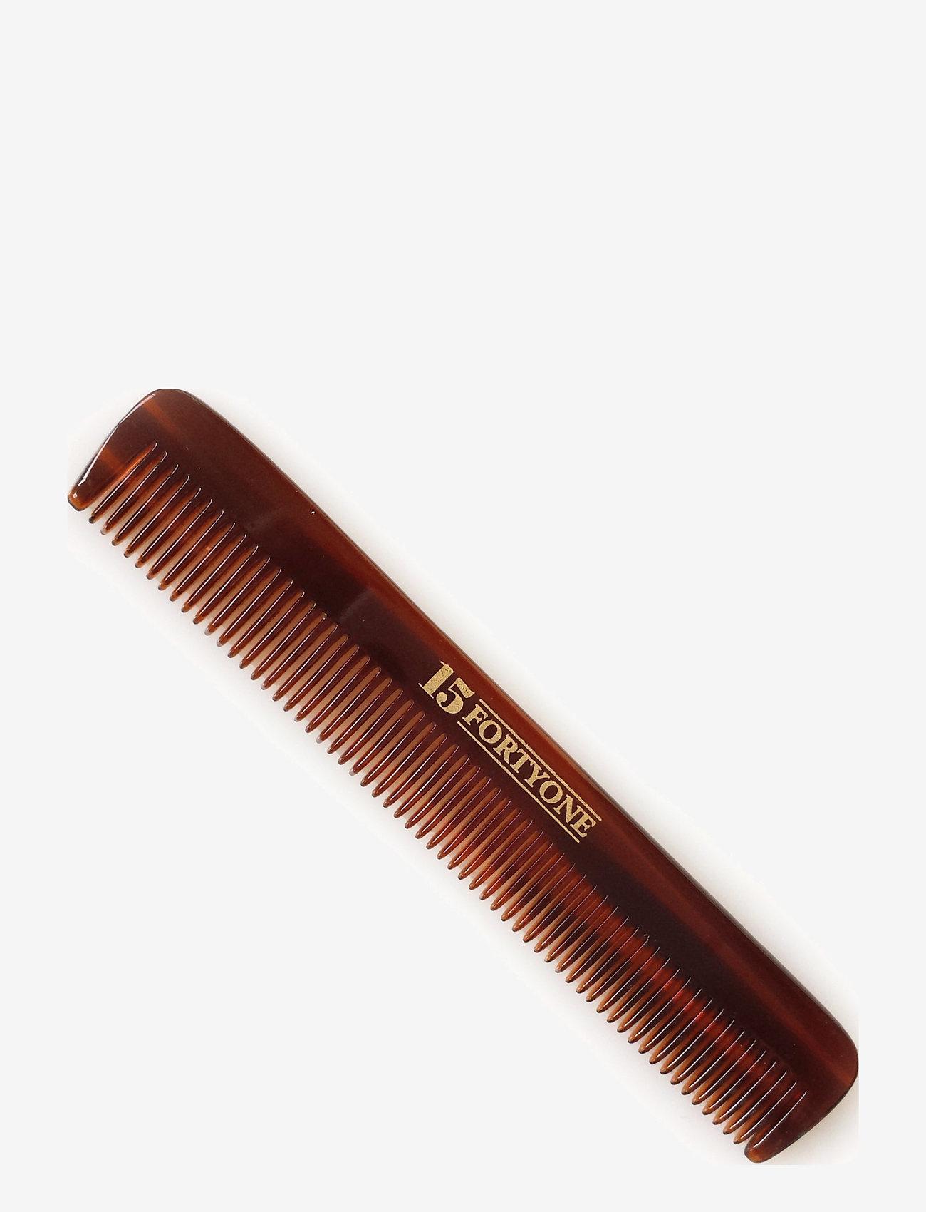 1541 of London - Pocket Comb ( fintandad) - hårbørster & kammer - brown - 0