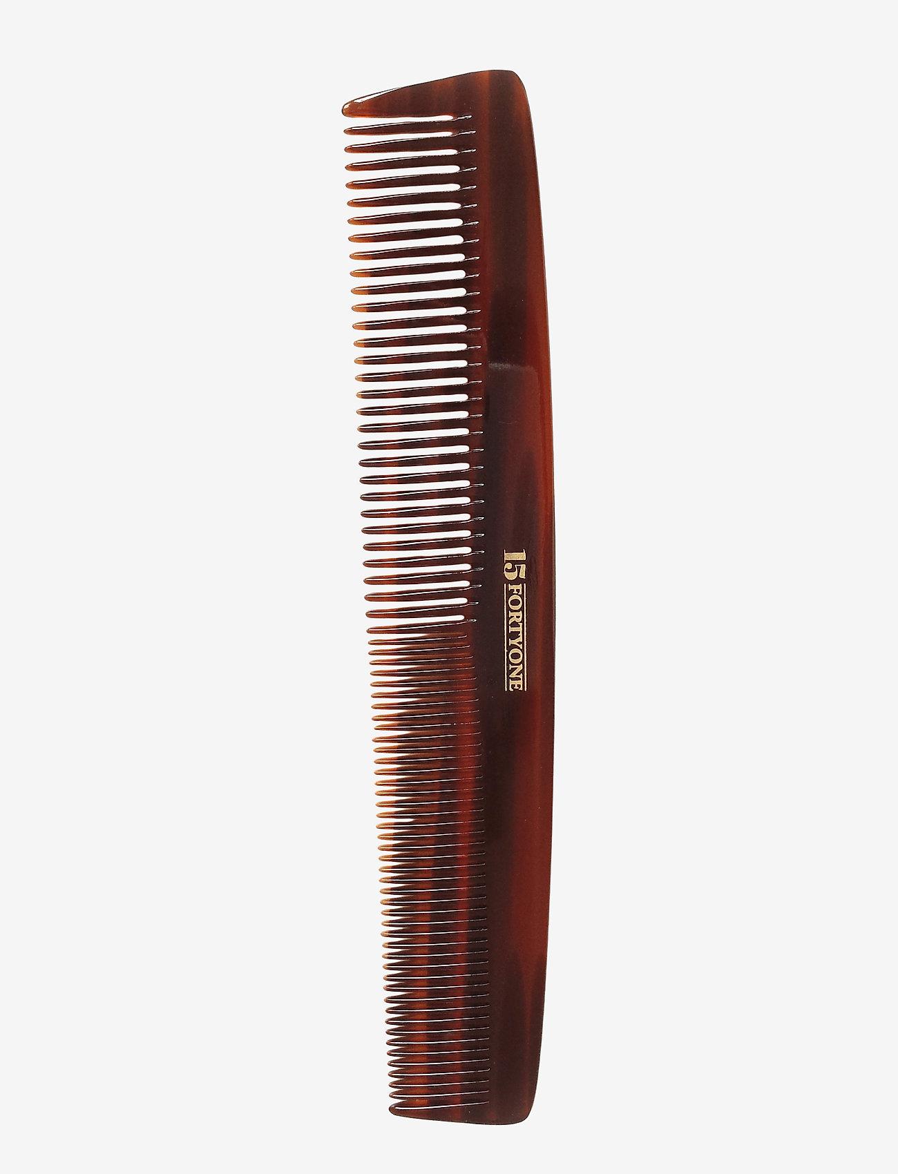 1541 of London - Dressing Comb (fintandad/bredd) - hårbørster & kammer - brown - 0