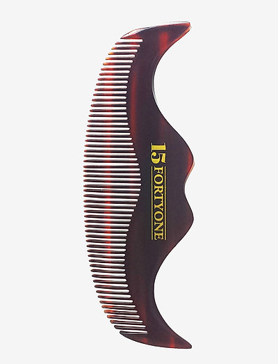 Handlebar Moustache Comb - BROWN