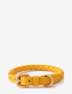 FERDINANDO COLLAR - dog collars - tuscan yellow