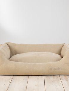 HENRI JUTE - dog beds - ecru