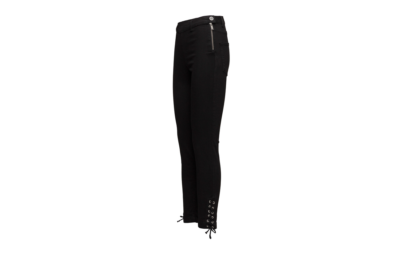 92 Black String Elastane Polyester Coton Cropped 2 6 2ndday Jeanett 2nd Équipement gUqw6xUASY
