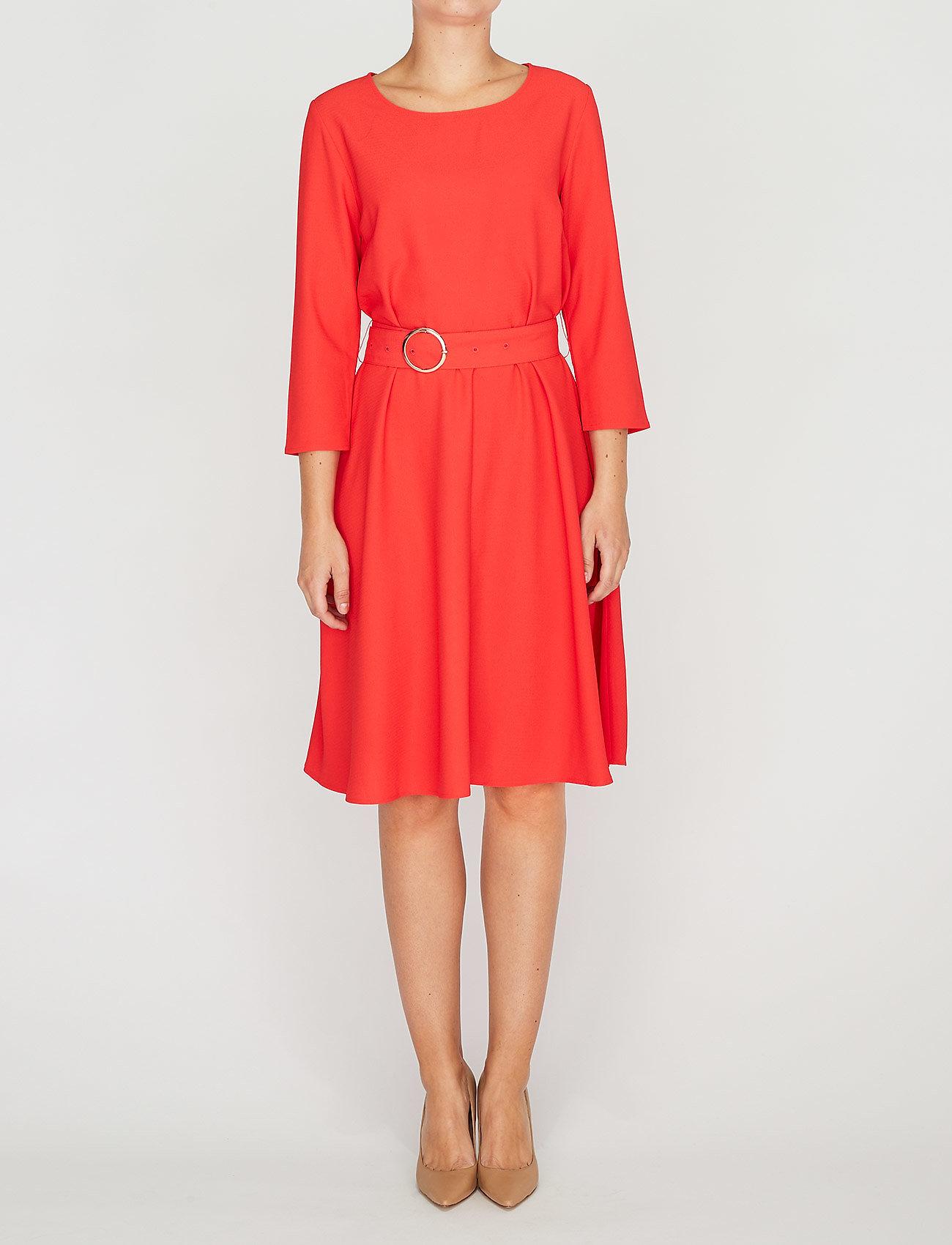 2NDDAY - 2ND June - midi kjoler - poppy red - 0