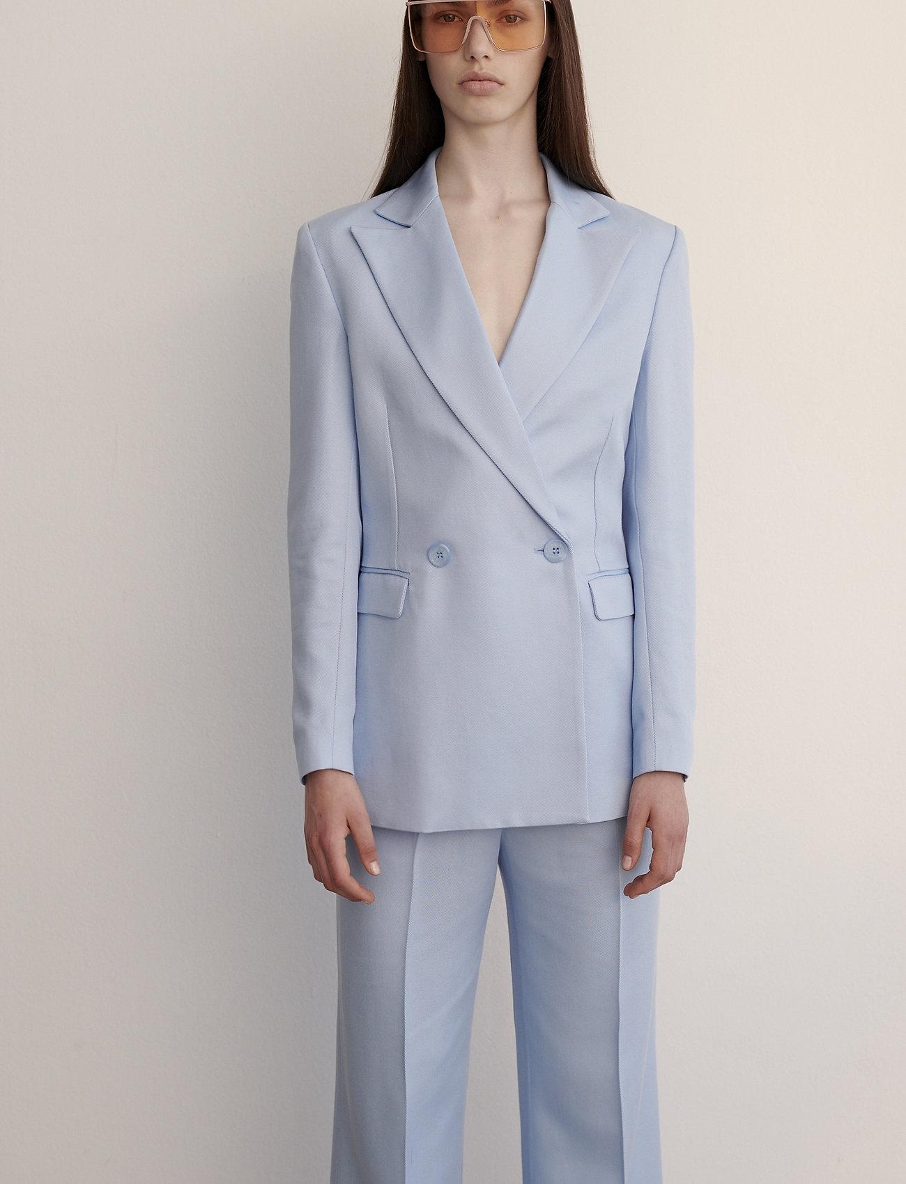 2NDDAY - 2ND Chrissy ThinkTwice - uitlopende broeken - cashmere blue - 0