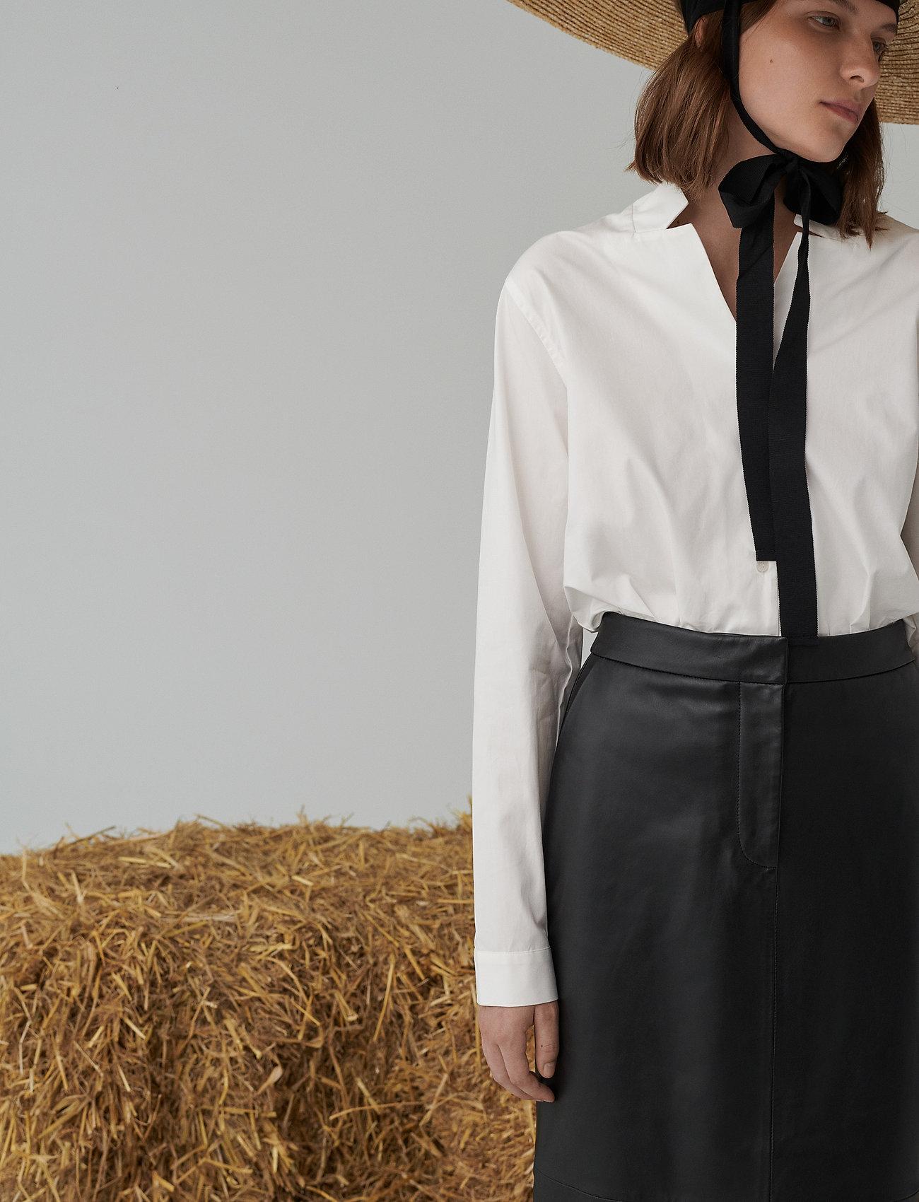 2NDDAY - 2ND Beth ThinkTwice - blouses med lange mouwen - white - 0