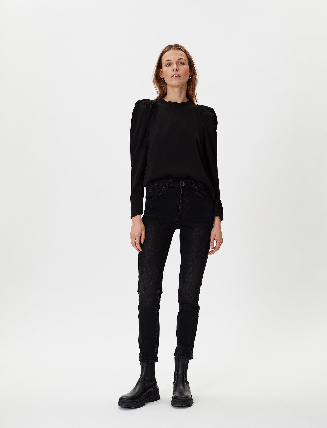2NDDAY - 2ND Bastian - long sleeved blouses - black - 0
