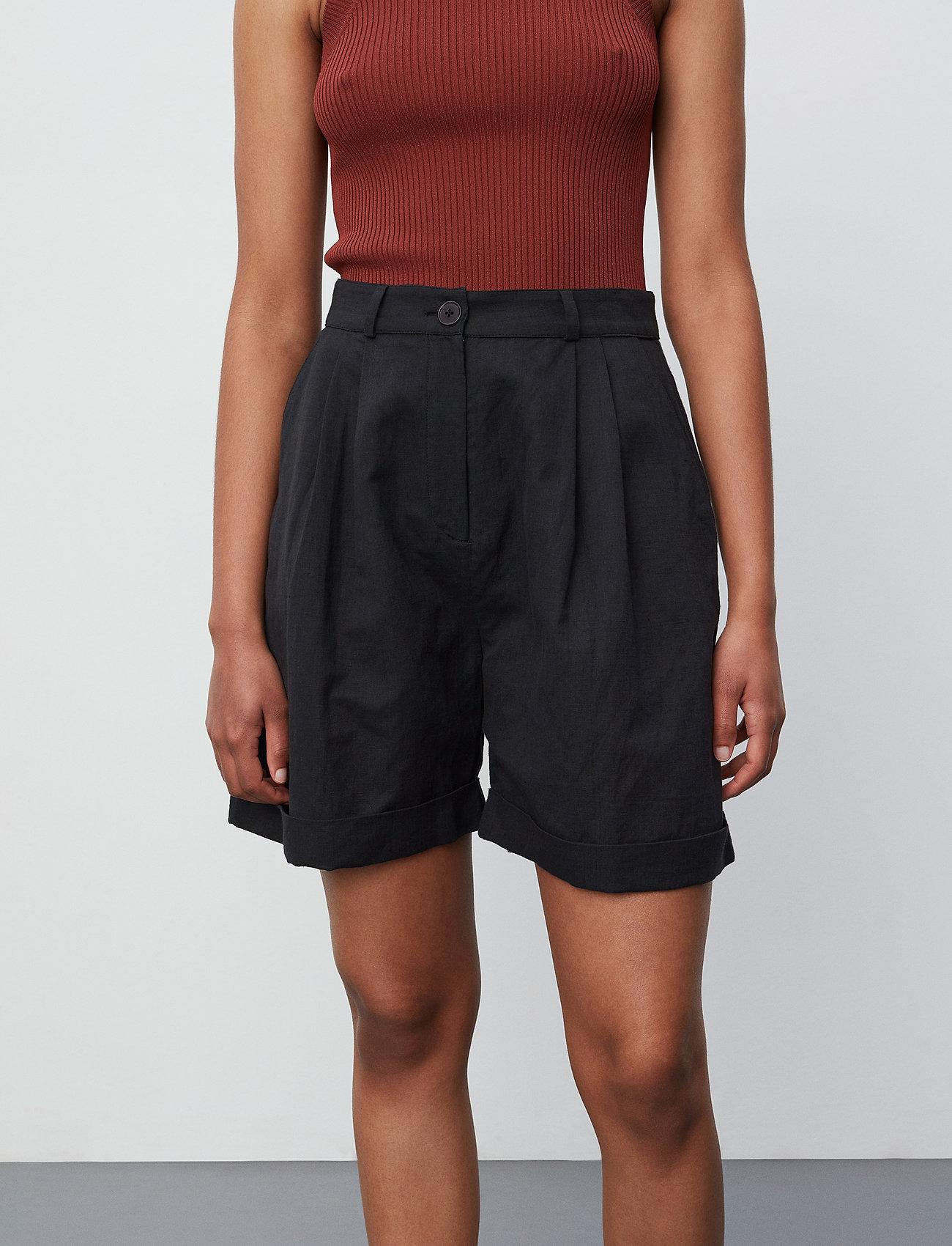 2NDDAY - 2ND Marisol - chino shorts - jet black - 0