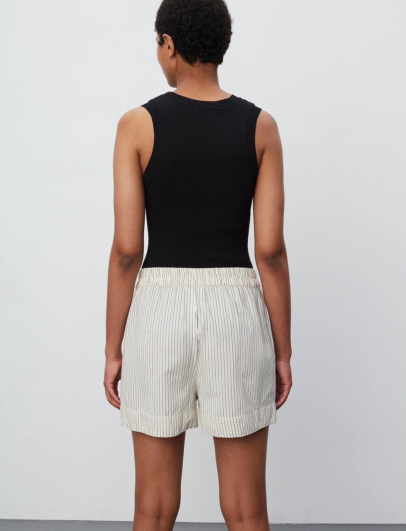 2NDDAY - 2ND Kassandra Stripe - casual shorts - taos taupe - 3