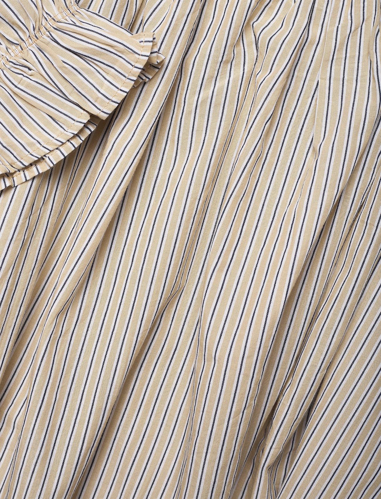 2NDDAY - 2ND Tiana Stripe - midi dresses - taos taupe - 5