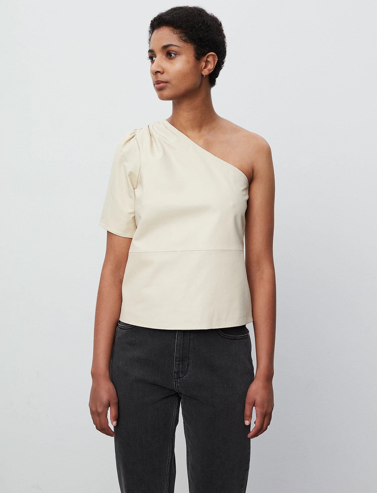 2NDDAY - 2ND Erika - short-sleeved blouses - fog - 0