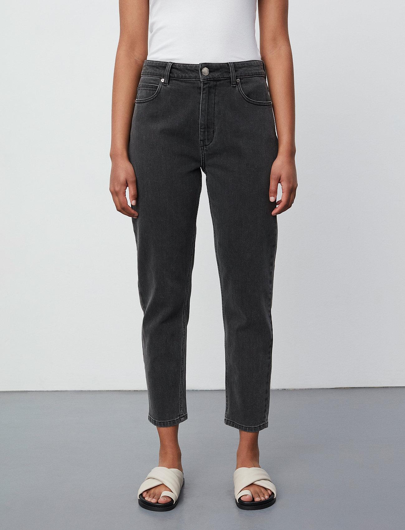 2NDDAY - 2ND Farah ThinkTwice - mom jeans - un black denim - 0