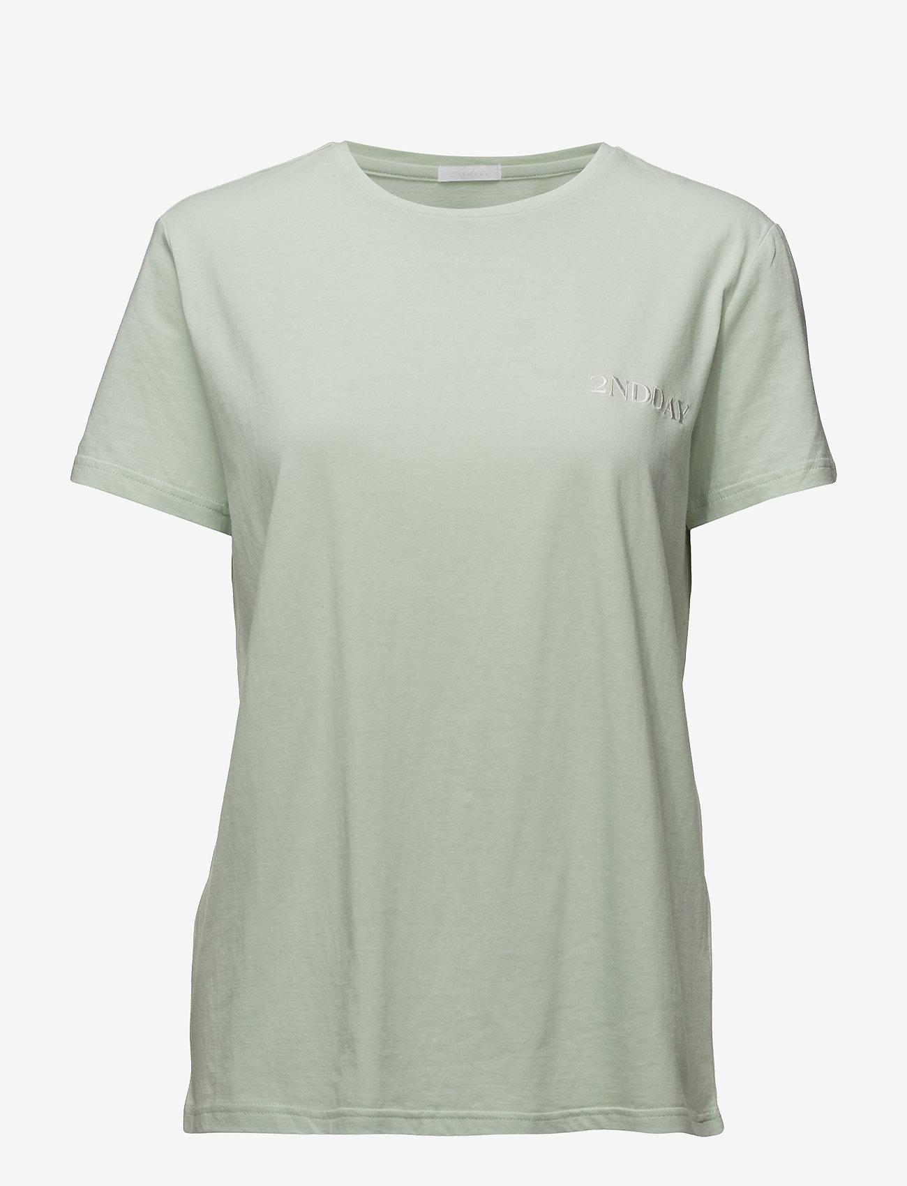 2NDDAY - 2ND Beryl - t-shirts - green lily - 0