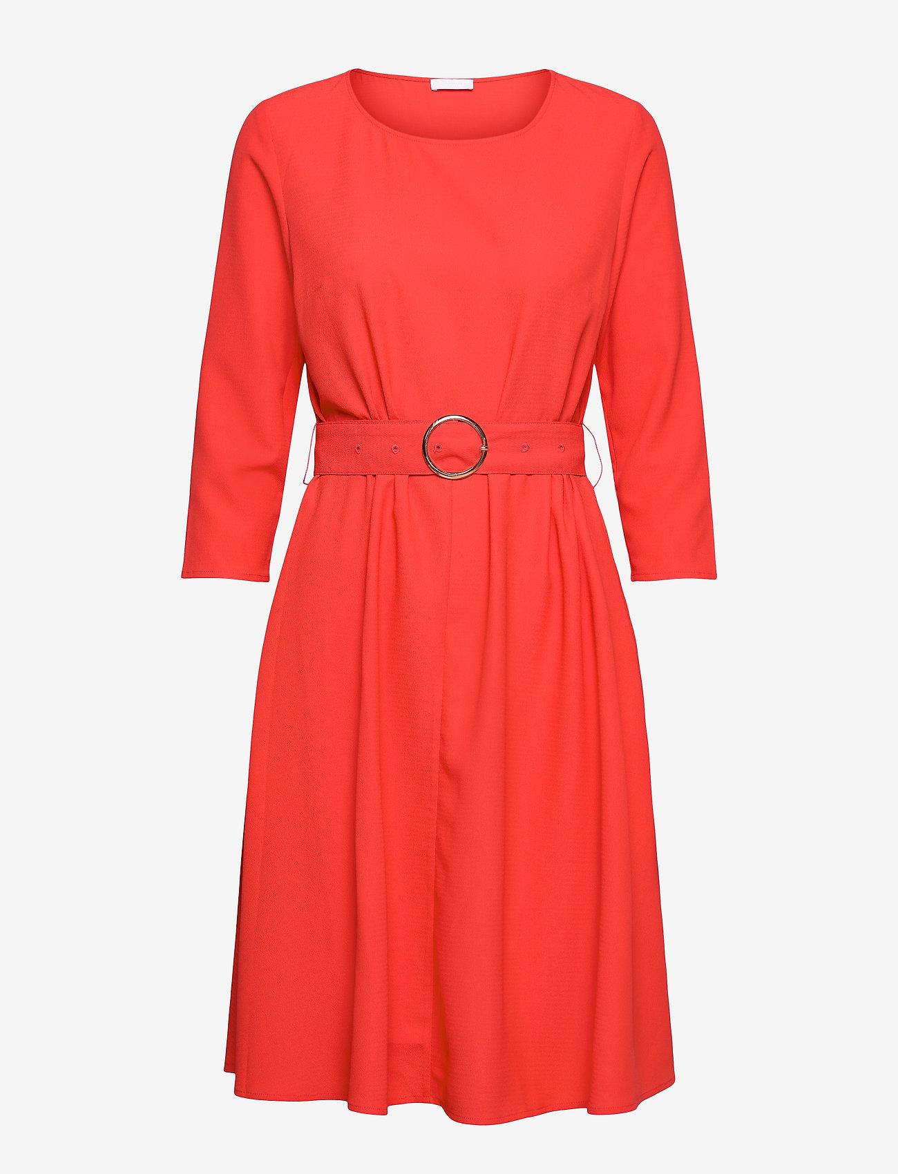 2NDDAY - 2ND June - midi kjoler - poppy red - 1