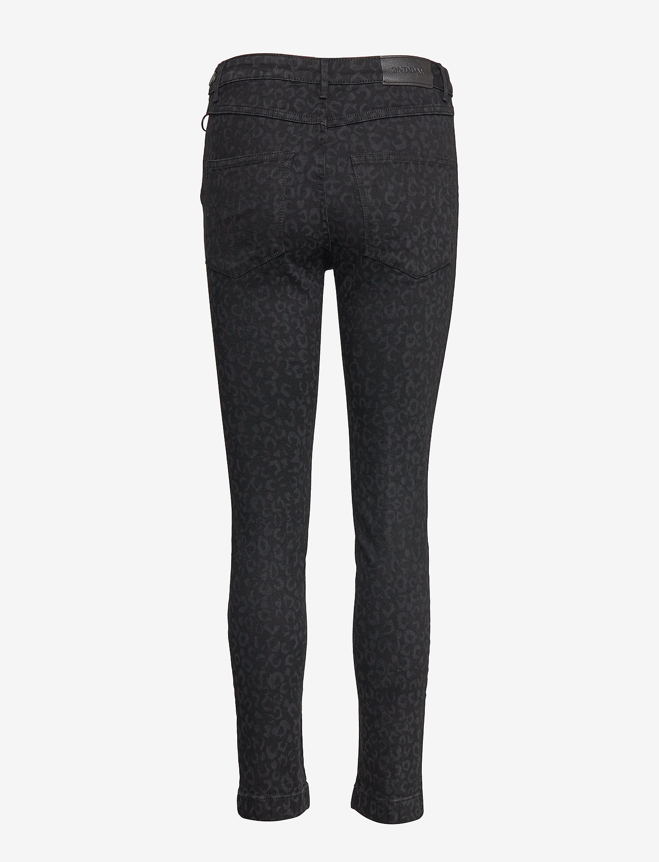 2NDDAY - 2ND Jeanett Leopard - skinny jeans - black denim - 1
