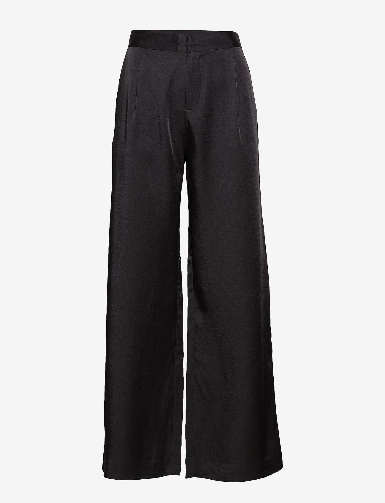 2NDDAY - 2ND Duffy - wide leg trousers - black - 0