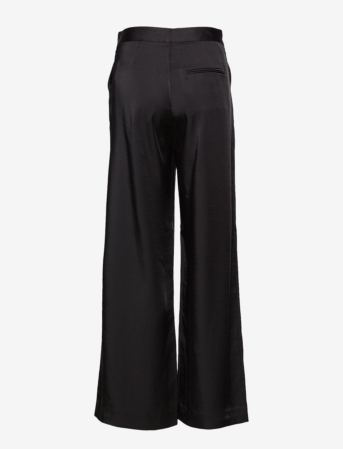 2NDDAY - 2ND Duffy - wide leg trousers - black - 1