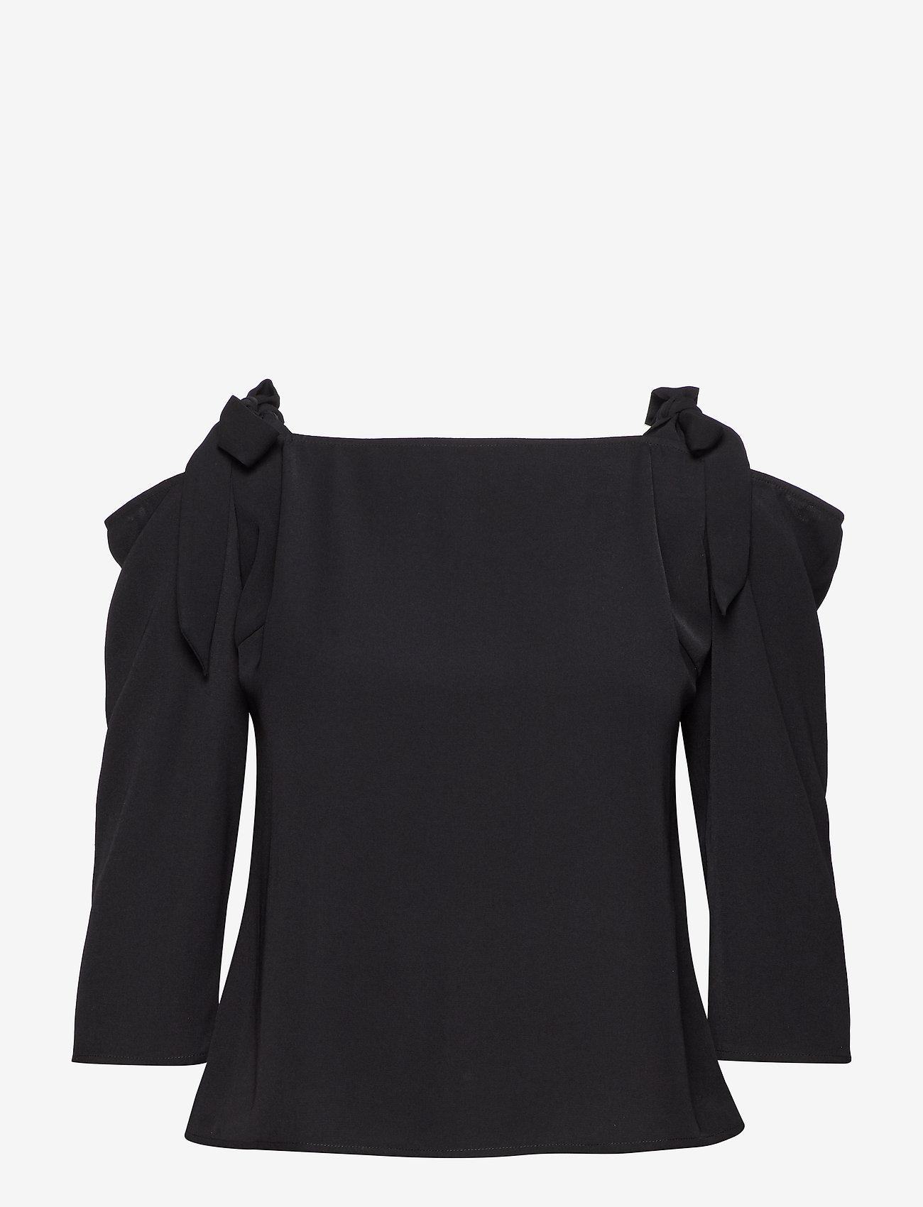 2NDDAY - 2ND Paula - blouses med lange mouwen - black - 0