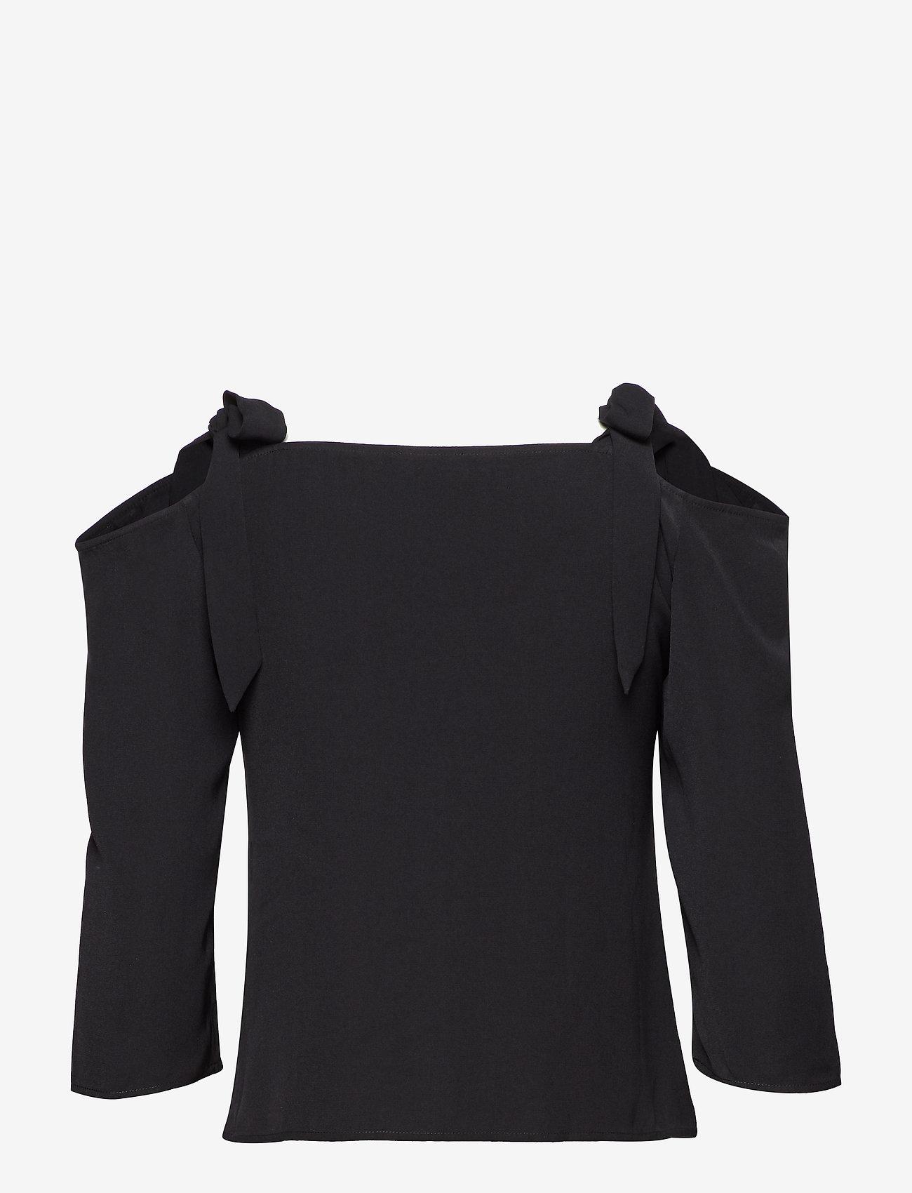 2NDDAY - 2ND Paula - blouses med lange mouwen - black - 1