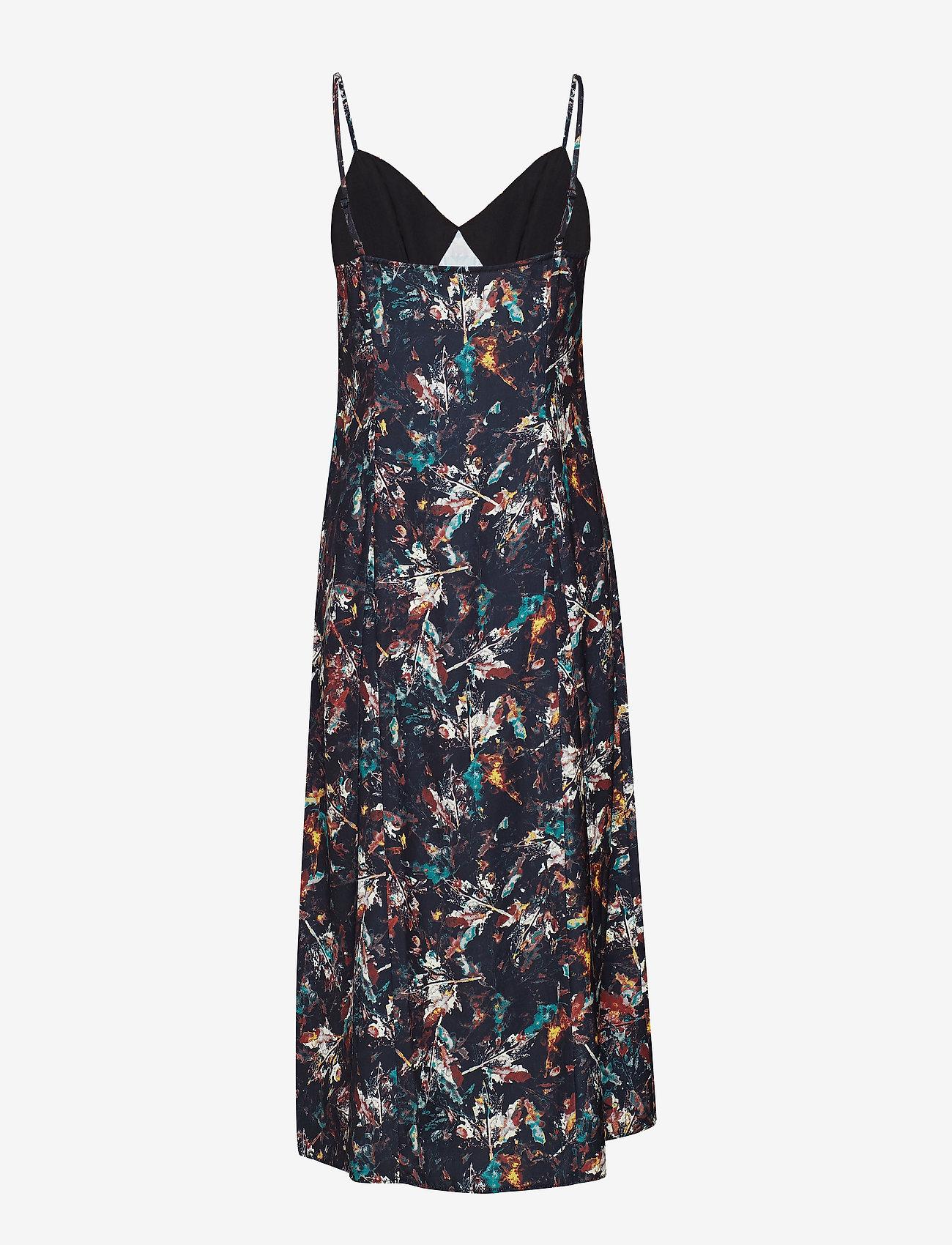 2NDDAY - 2ND Paula Printed - midi kjoler - syrah - 1