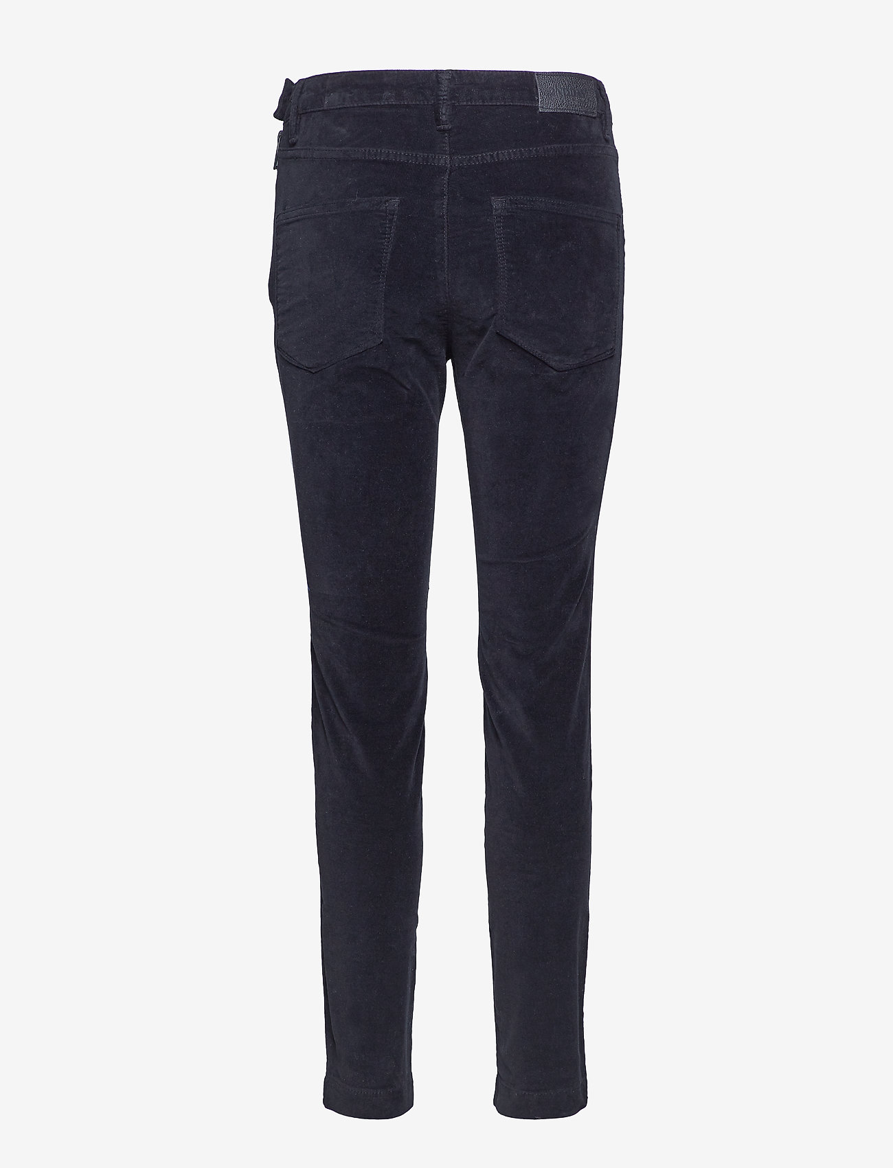 2NDDAY - 2ND Jeanett Velvet - straight leg trousers - black - 1